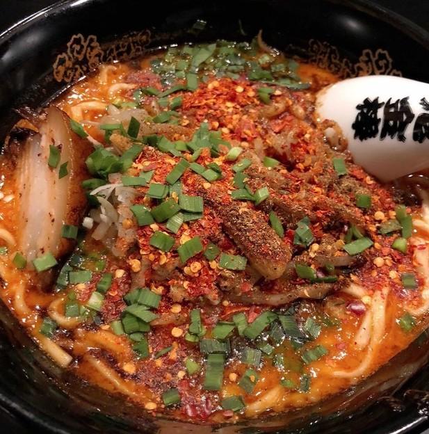 カラシビ味噌らー麺の鬼金棒が超絶辛くて美味しいという噂!