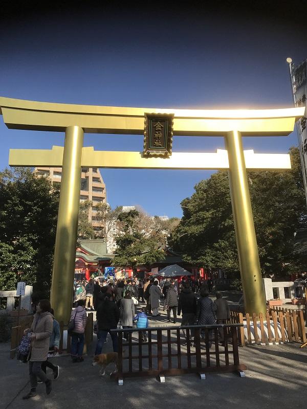 金神社初詣2019ご利益やお守りは?駐車場と混雑調査!