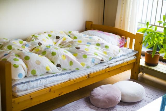 寝室 おしゃれ 狭い