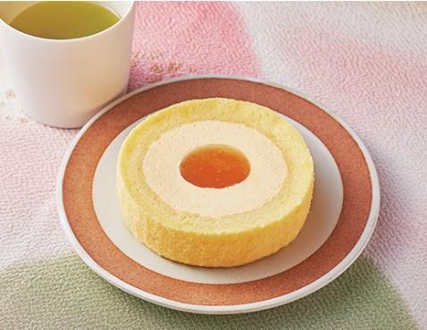 Uchi Café×八天堂かすたーどももロール