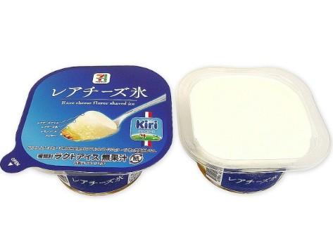 セブン7プレミアムレアチーズ氷のカロリーと糖質量は?発売日と値段も調査!