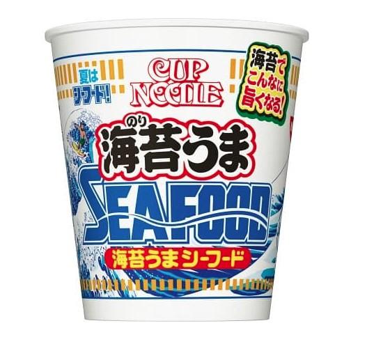 日清食品カップヌードル海苔うまシーフードビッグ発売日はいつ?値段と内容量も調査