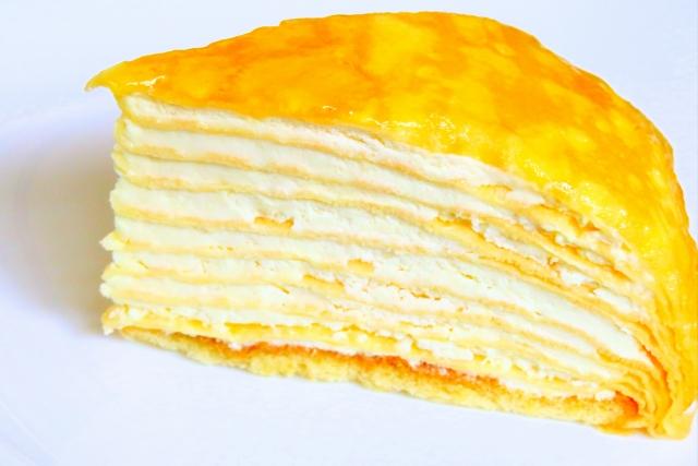 セブンもっちりクレープダブルレアチーズクリームのカロリーと糖質量は?販売開始はいつから?