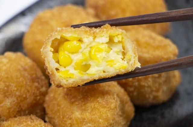 セブンイレブン北海道産コーンコロッケのカロリーと糖質量は?美味しい食べ方を調査!